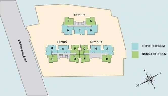 Vishwakarma Sky Park Cluster Plan