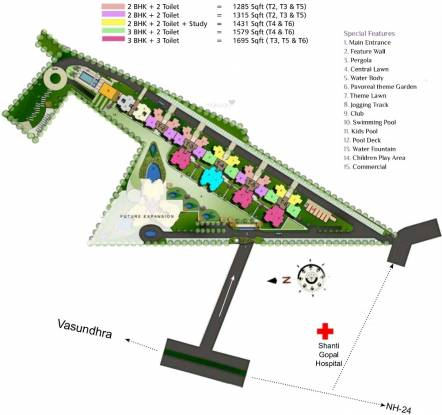 Rudra Pavo Real Layout Plan