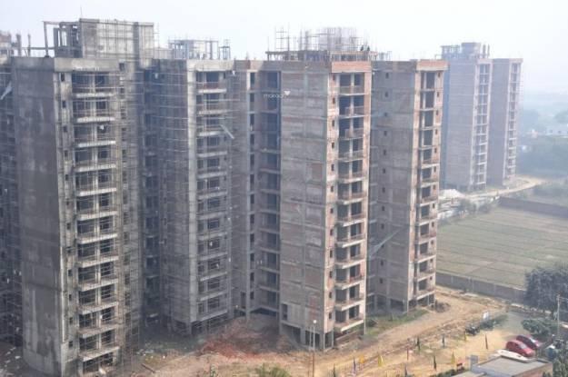 Omaxe Residency Construction Status