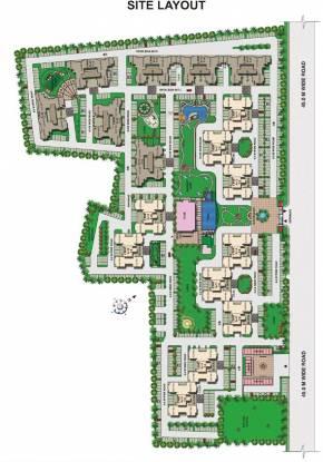Omaxe Residency Site Plan