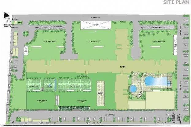 Rohtas Presidential Tower Site Plan