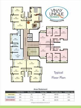 Vinay Unique Homes Cluster Plan