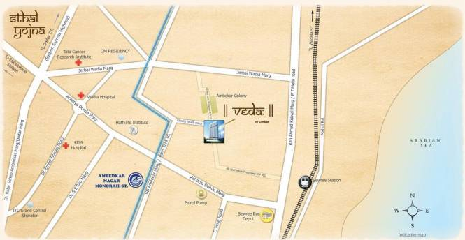 Omkar Veda Exclusive Location Plan