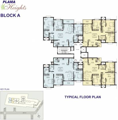 Plama Heights Cluster Plan