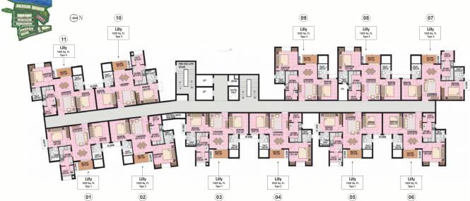 Alliance Orchid Springs Cluster Plan