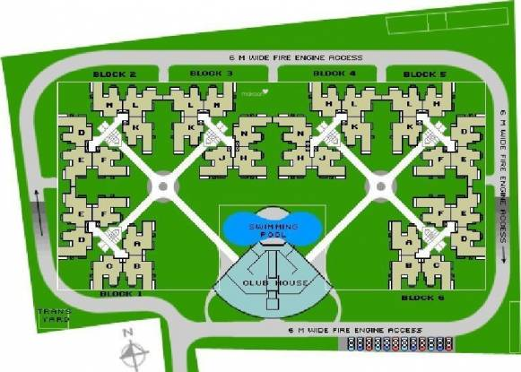 Sobha Iris Layout Plan