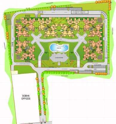 Sobha Iris Site Plan