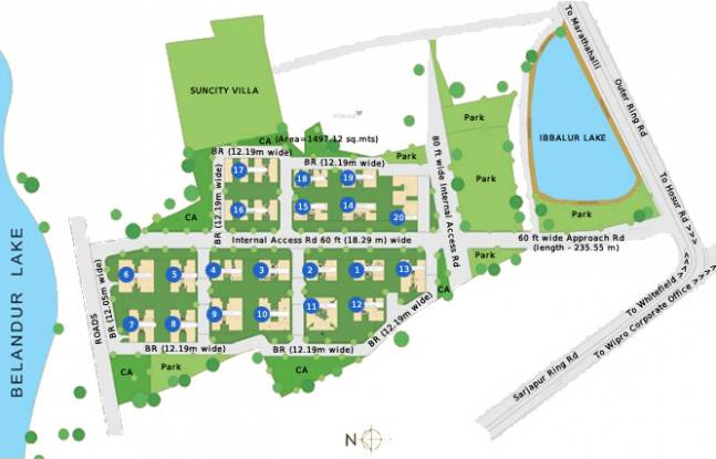 Corporate Suncity Apartments Master Plan