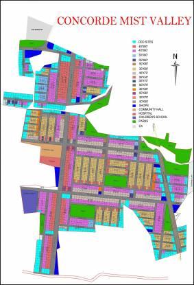 Concorde Mist Valley Layout Plan
