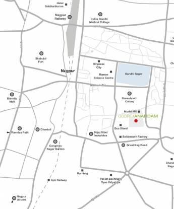 Godrej Anandam Location Plan