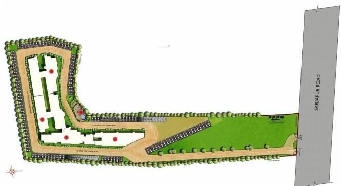Mantri Premero Site Plan