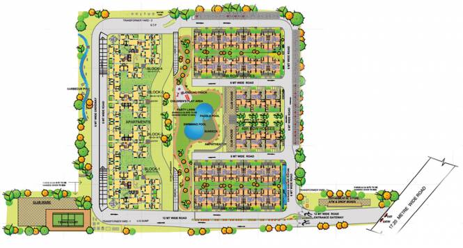 Sobha Amethyst Site Plan