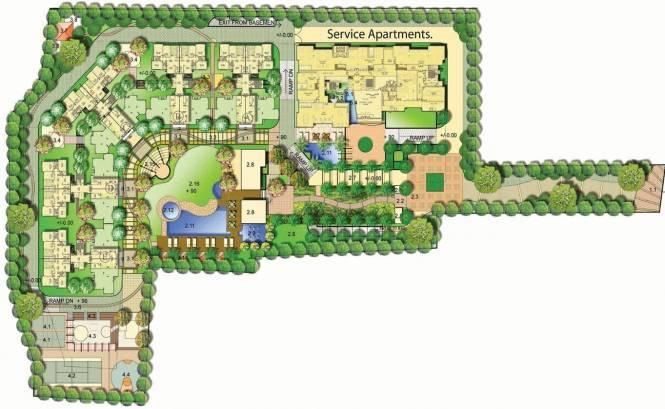 Mantri Mantri Flora Master Plan