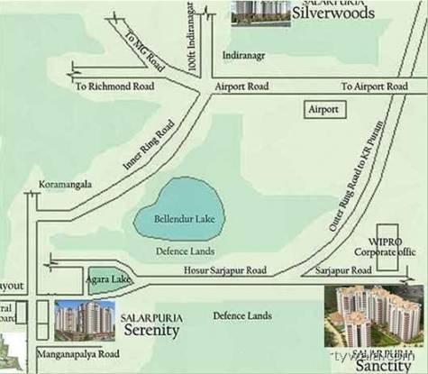 Ittina Soupernika Location Plan