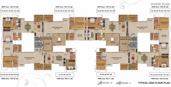Geras Park View Cluster Plan