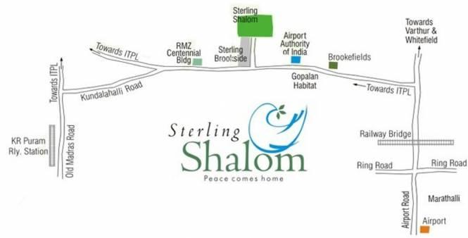 Sterling Shalom Location Plan