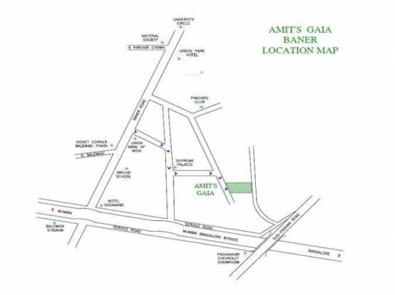 Amit Gaia Location Plan