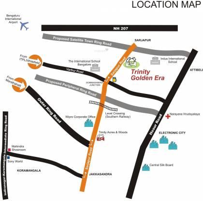 Suraj Trinity Golden Era Location Plan