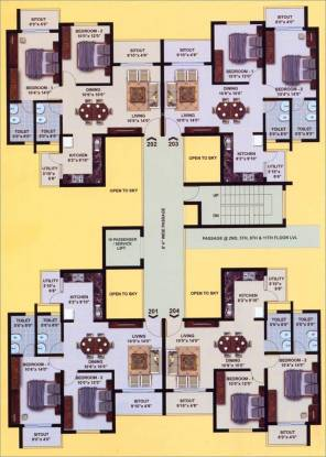 Corporate Leisure Suncity Gloria Cluster Plan