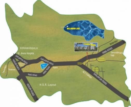 Oceanus Ebony Location Plan