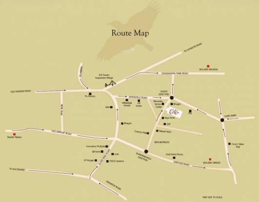 Skylark Esta Location Plan