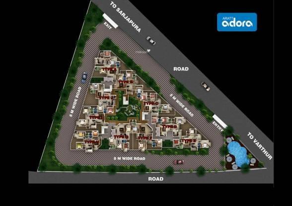Aratt Adora Cluster Plan