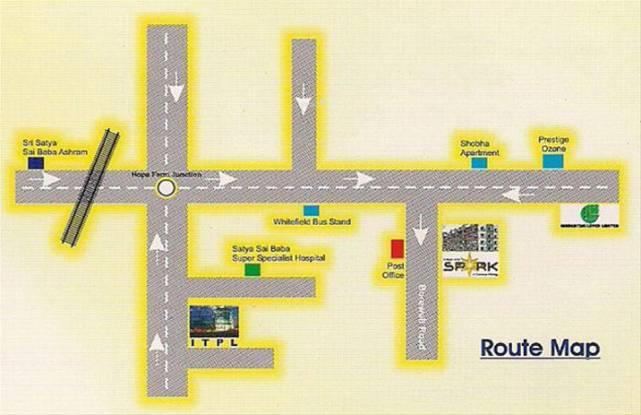 DS DSMAX SPARK Location Plan