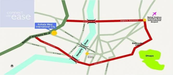 USE Charulata Location Plan