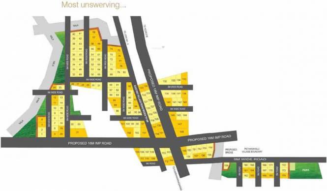 Aureate Parijata Meadows Layout Plan