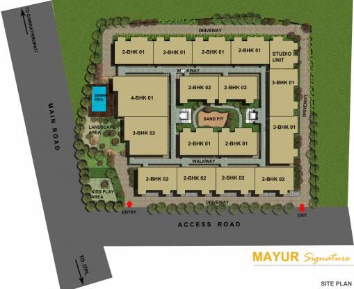 Mayur Signature Site Plan
