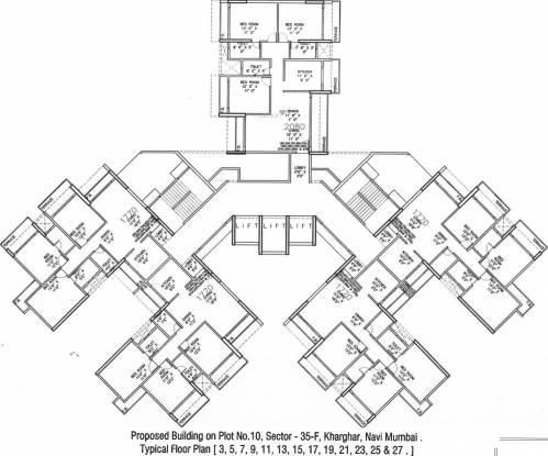 Paradise Sai Symphony Cluster Plan