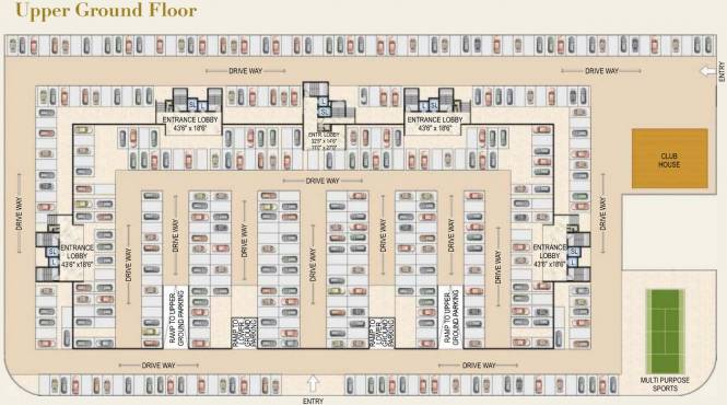 Paradise Sai Mannat Cluster Plan
