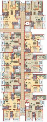 Aashish JK Apartments Cluster Plan
