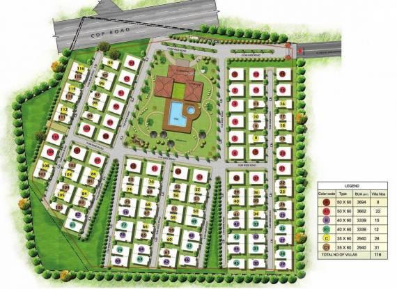 Prestige Glenwood Master Plan