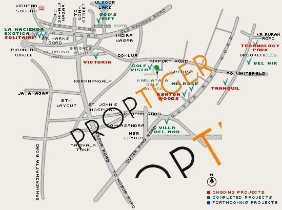 Vaswani Tranquil Location Plan