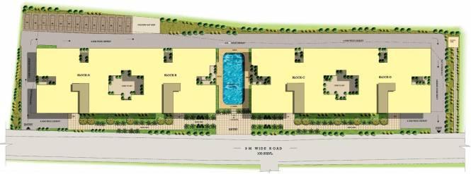 NCC Nagarjuna Serene Layout Plan