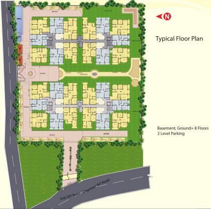 Innovative Aspen Woods Cluster Plan