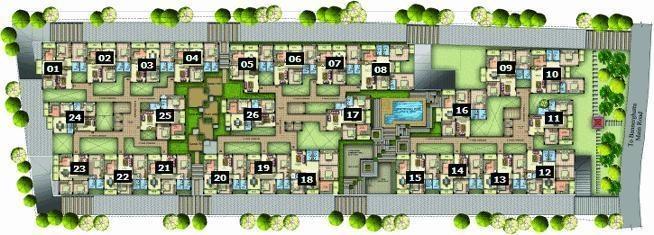 Amigo ACAS Crescent Square Cluster Plan