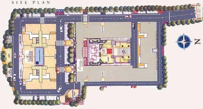 Kolte Patil Shubha Site Plan