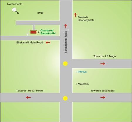 Chartered Samskruti Location Plan