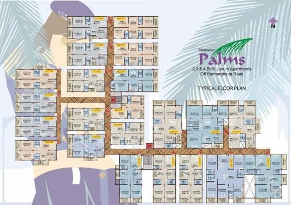 Mahaveer Palms Cluster Plan