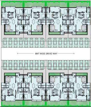 Vatika Primrose Floors Cluster Plan