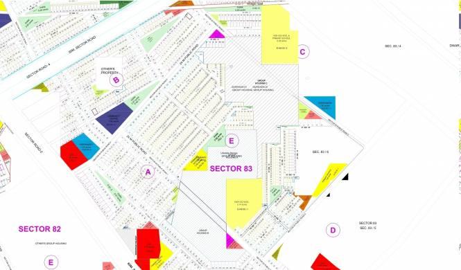 Vatika Emilia Floors Master Plan
