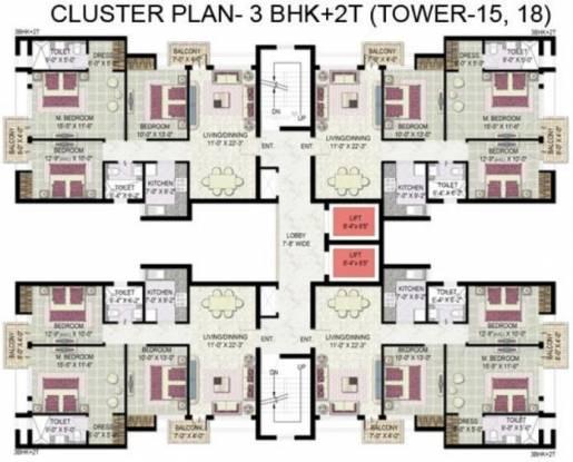 Jaypee Kensington Boulevard Cluster Plan