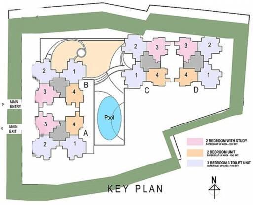 Salarpuria Sattva Serenity Layout Plan