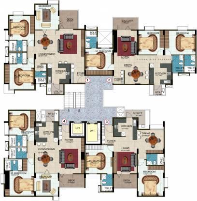DSR Rainbow Heights Cluster Plan