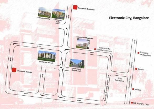 Emmanuel Angels Arch Location Plan