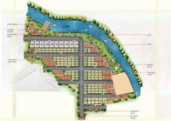 Daadys Roost Layout Plan