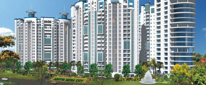 Agarwal Aditya Mega City Elevation