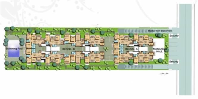 Oceanus Royale Site Plan